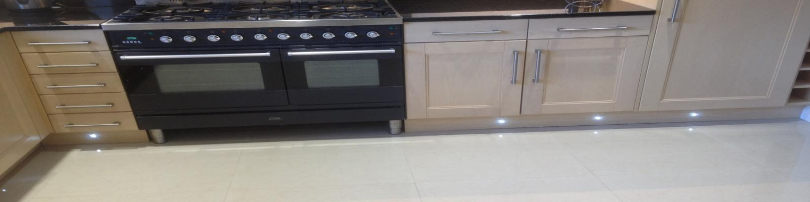 Kitchen lighting installation in Southampton