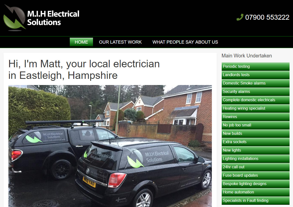 Electrician in Eastleigh