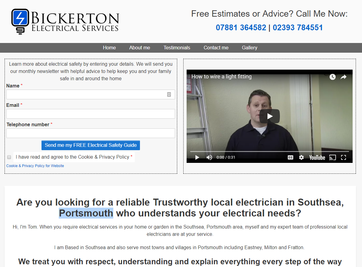 Bickerton Electrical Services