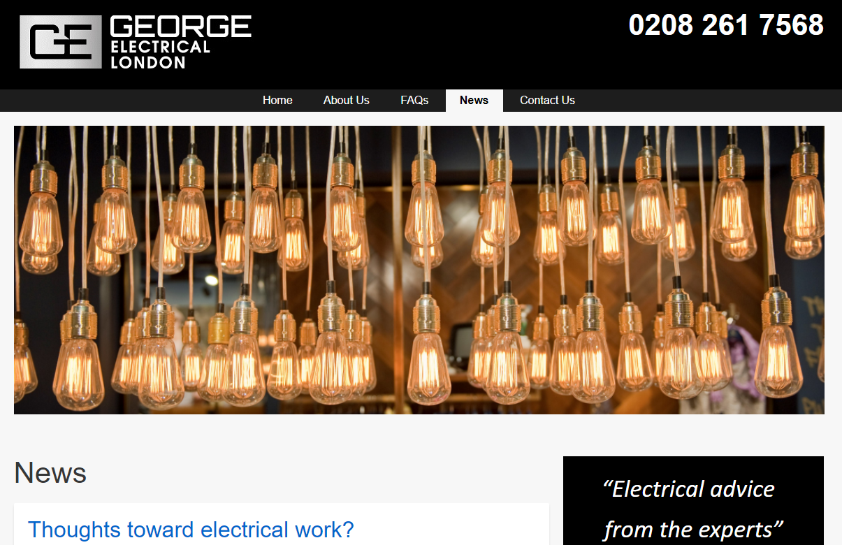 George Electrical London
