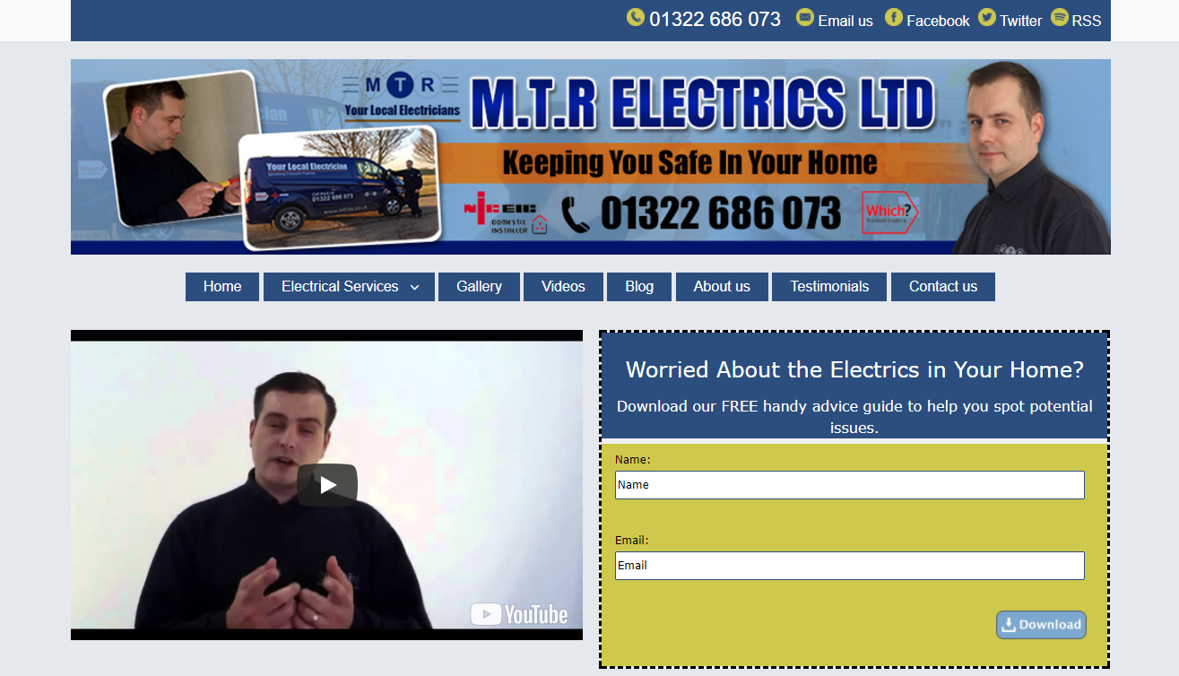 MTR Electrics - Electrician in Bexley, Dartford, Bromley and Sevenoaks