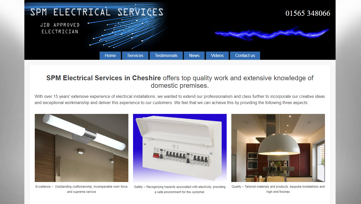 SPM Electrical - Electrician in Cheshire